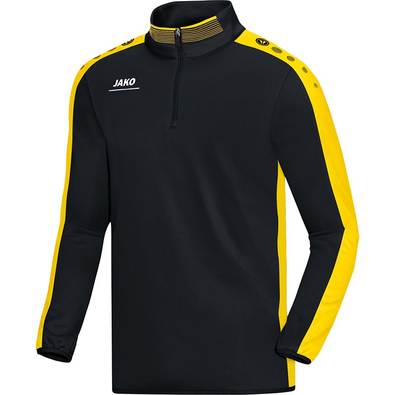 Kinder T-Shirt JAKO Striker royal · Kinder Aufwärmshirt JAKO Striker schwarz -citro ab09d9db4f